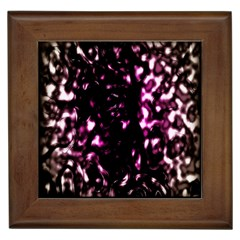 Background Structure Magenta Brown Framed Tiles
