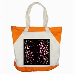 Background Structure Magenta Brown Accent Tote Bag