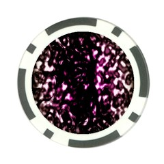 Background Structure Magenta Brown Poker Chip Card Guard