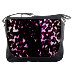 Background Structure Magenta Brown Messenger Bags