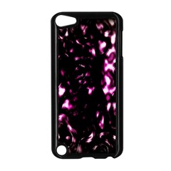 Background Structure Magenta Brown Apple iPod Touch 5 Case (Black)