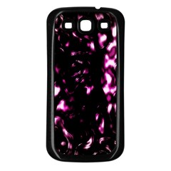 Background Structure Magenta Brown Samsung Galaxy S3 Back Case (black)