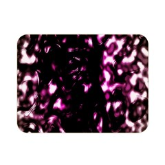 Background Structure Magenta Brown Double Sided Flano Blanket (Mini)