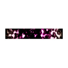 Background Structure Magenta Brown Flano Scarf (mini)