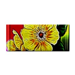 Beautiful Fractal Flower In 3d Glass Frame Cosmetic Storage Cases