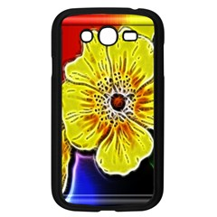 Beautiful Fractal Flower In 3d Glass Frame Samsung Galaxy Grand DUOS I9082 Case (Black)