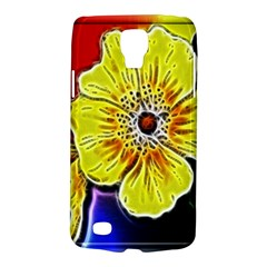 Beautiful Fractal Flower In 3d Glass Frame Galaxy S4 Active