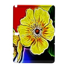Beautiful Fractal Flower In 3d Glass Frame Galaxy Note 1