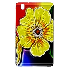Beautiful Fractal Flower In 3d Glass Frame Samsung Galaxy Tab Pro 8.4 Hardshell Case