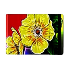 Beautiful Fractal Flower In 3d Glass Frame iPad Mini 2 Flip Cases