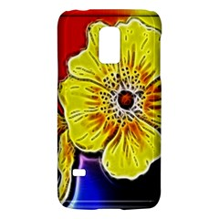 Beautiful Fractal Flower In 3d Glass Frame Galaxy S5 Mini