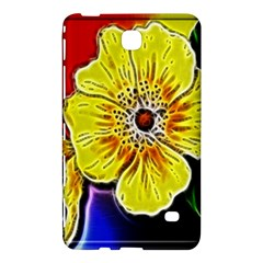 Beautiful Fractal Flower In 3d Glass Frame Samsung Galaxy Tab 4 (7 ) Hardshell Case