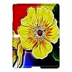 Beautiful Fractal Flower In 3d Glass Frame Samsung Galaxy Tab S (10 5 ) Hardshell Case