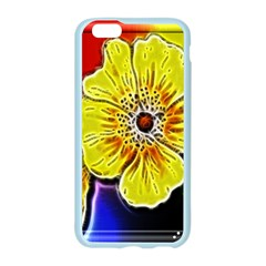 Beautiful Fractal Flower In 3d Glass Frame Apple Seamless iPhone 6/6S Case (Color)