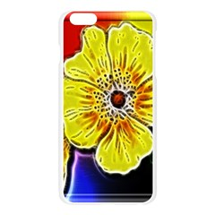 Beautiful Fractal Flower In 3d Glass Frame Apple Seamless iPhone 6 Plus/6S Plus Case (Transparent)
