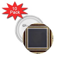 Fractal Classic Baroque Frame 1 75  Buttons (10 Pack)