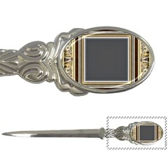 Fractal Classic Baroque Frame Letter Openers