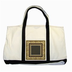 Fractal Classic Baroque Frame Two Tone Tote Bag