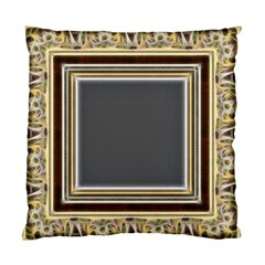 Fractal Classic Baroque Frame Standard Cushion Case (two Sides)