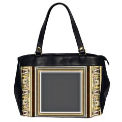 Fractal Classic Baroque Frame Office Handbags (2 Sides)
