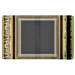 Fractal Classic Baroque Frame Apple iPad 3/4 Flip Case