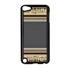 Fractal Classic Baroque Frame Apple iPod Touch 5 Case (Black)