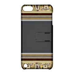 Fractal Classic Baroque Frame Apple Ipod Touch 5 Hardshell Case With Stand