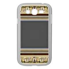 Fractal Classic Baroque Frame Samsung Galaxy Grand DUOS I9082 Case (White)