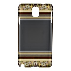 Fractal Classic Baroque Frame Samsung Galaxy Note 3 N9005 Hardshell Case