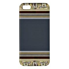 Fractal Classic Baroque Frame iPhone 5S/ SE Premium Hardshell Case