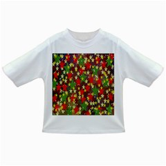 Star Abstract Multicoloured Stars Background Pattern Infant/toddler T Shirts