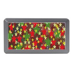 Star Abstract Multicoloured Stars Background Pattern Memory Card Reader (Mini)
