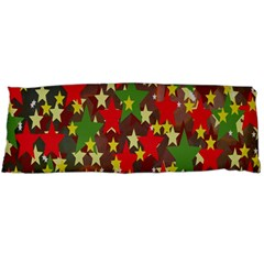 Star Abstract Multicoloured Stars Background Pattern Body Pillow Case Dakimakura (Two Sides)