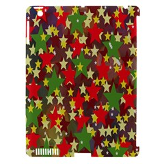 Star Abstract Multicoloured Stars Background Pattern Apple iPad 3/4 Hardshell Case (Compatible with Smart Cover)