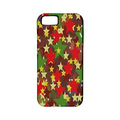 Star Abstract Multicoloured Stars Background Pattern Apple iPhone 5 Classic Hardshell Case (PC+Silicone)