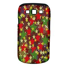 Star Abstract Multicoloured Stars Background Pattern Samsung Galaxy S III Classic Hardshell Case (PC+Silicone)
