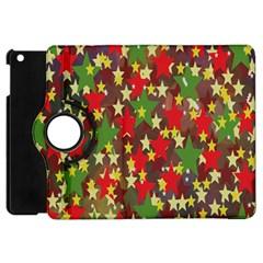 Star Abstract Multicoloured Stars Background Pattern Apple iPad Mini Flip 360 Case
