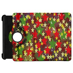 Star Abstract Multicoloured Stars Background Pattern Kindle Fire HD 7