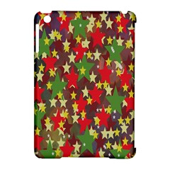 Star Abstract Multicoloured Stars Background Pattern Apple iPad Mini Hardshell Case (Compatible with Smart Cover)