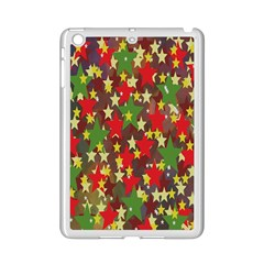 Star Abstract Multicoloured Stars Background Pattern iPad Mini 2 Enamel Coated Cases
