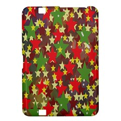Star Abstract Multicoloured Stars Background Pattern Kindle Fire HD 8.9