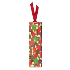 Star Abstract Multicoloured Stars Background Pattern Small Book Marks