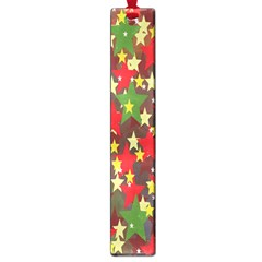 Star Abstract Multicoloured Stars Background Pattern Large Book Marks