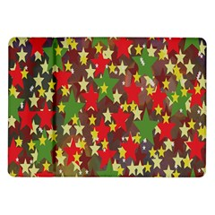 Star Abstract Multicoloured Stars Background Pattern Samsung Galaxy Tab 10.1  P7500 Flip Case