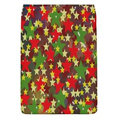 Star Abstract Multicoloured Stars Background Pattern Flap Covers (l)