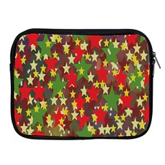Star Abstract Multicoloured Stars Background Pattern Apple iPad 2/3/4 Zipper Cases