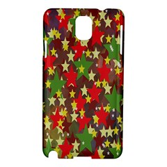 Star Abstract Multicoloured Stars Background Pattern Samsung Galaxy Note 3 N9005 Hardshell Case
