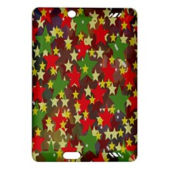 Star Abstract Multicoloured Stars Background Pattern Amazon Kindle Fire HD (2013) Hardshell Case