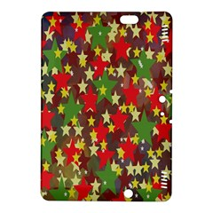 Star Abstract Multicoloured Stars Background Pattern Kindle Fire HDX 8.9  Hardshell Case