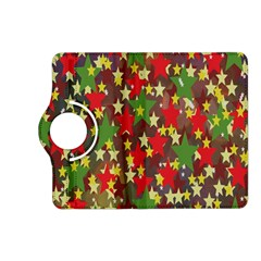 Star Abstract Multicoloured Stars Background Pattern Kindle Fire HD (2013) Flip 360 Case